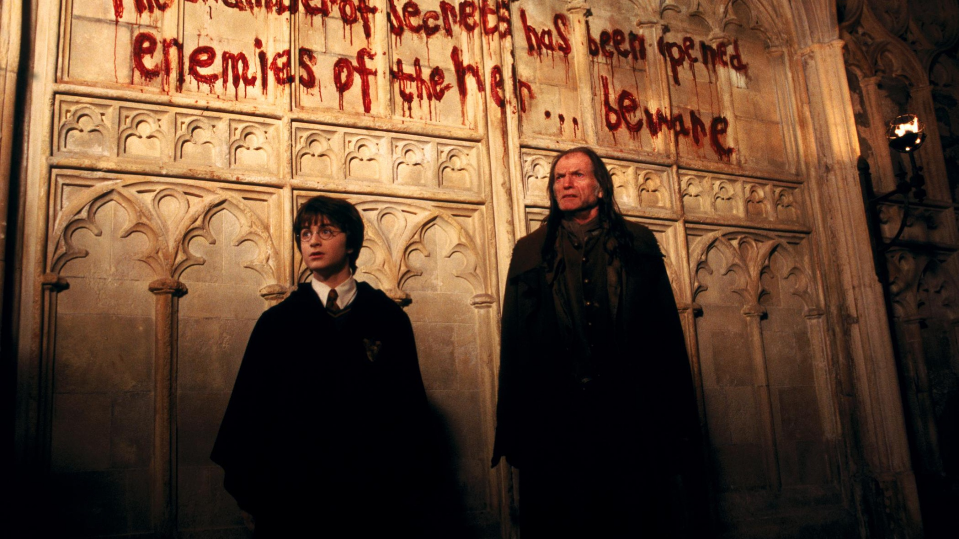 Wallpaper Harry Potter And The Chamber Of Secrets Hogwarts - Harry Potter Chamber Of Secrets Writing - HD Wallpaper