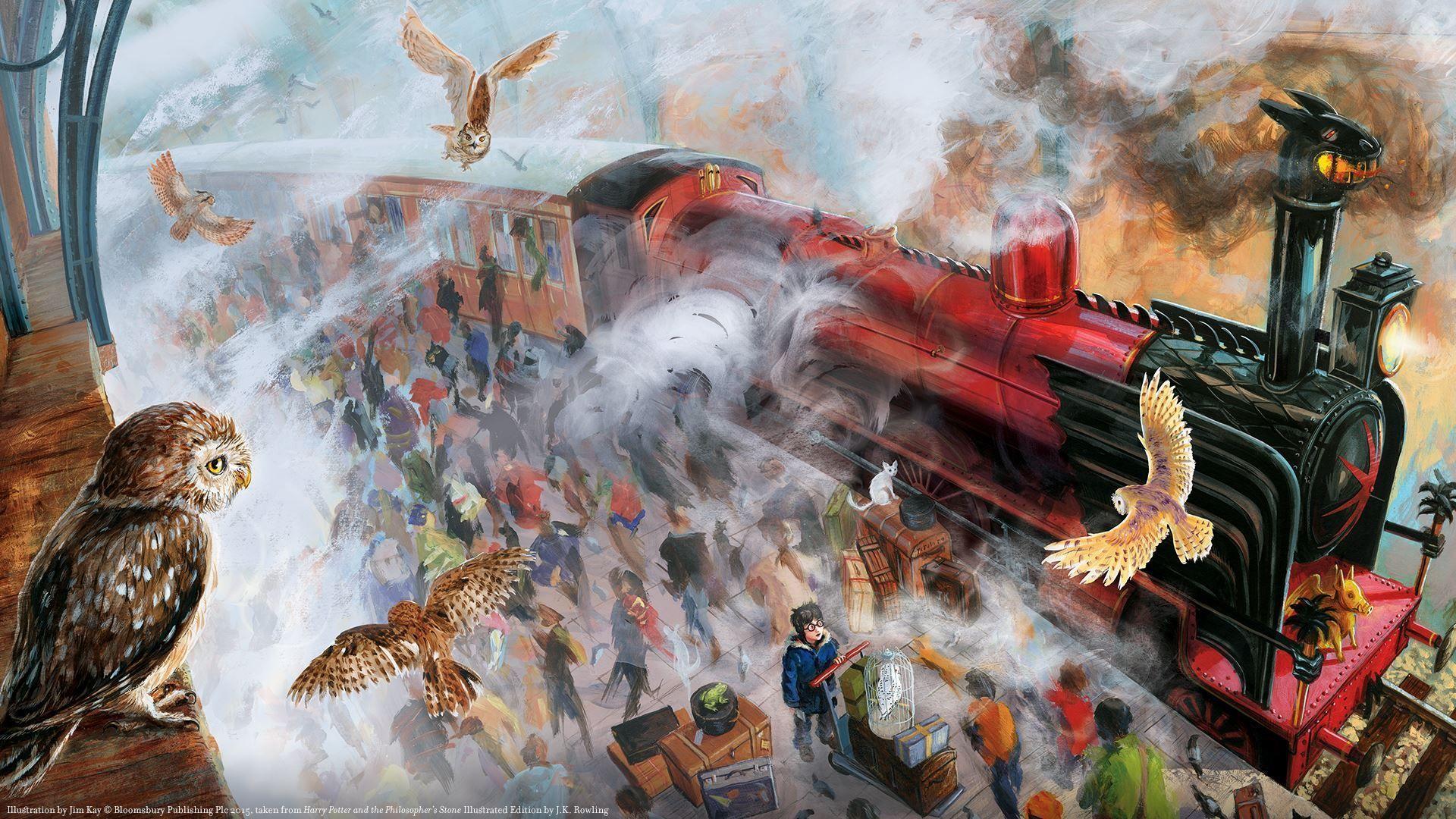Harry Potter Art Wallpapers - Desktop Wallpapers Harry Potter - HD Wallpaper