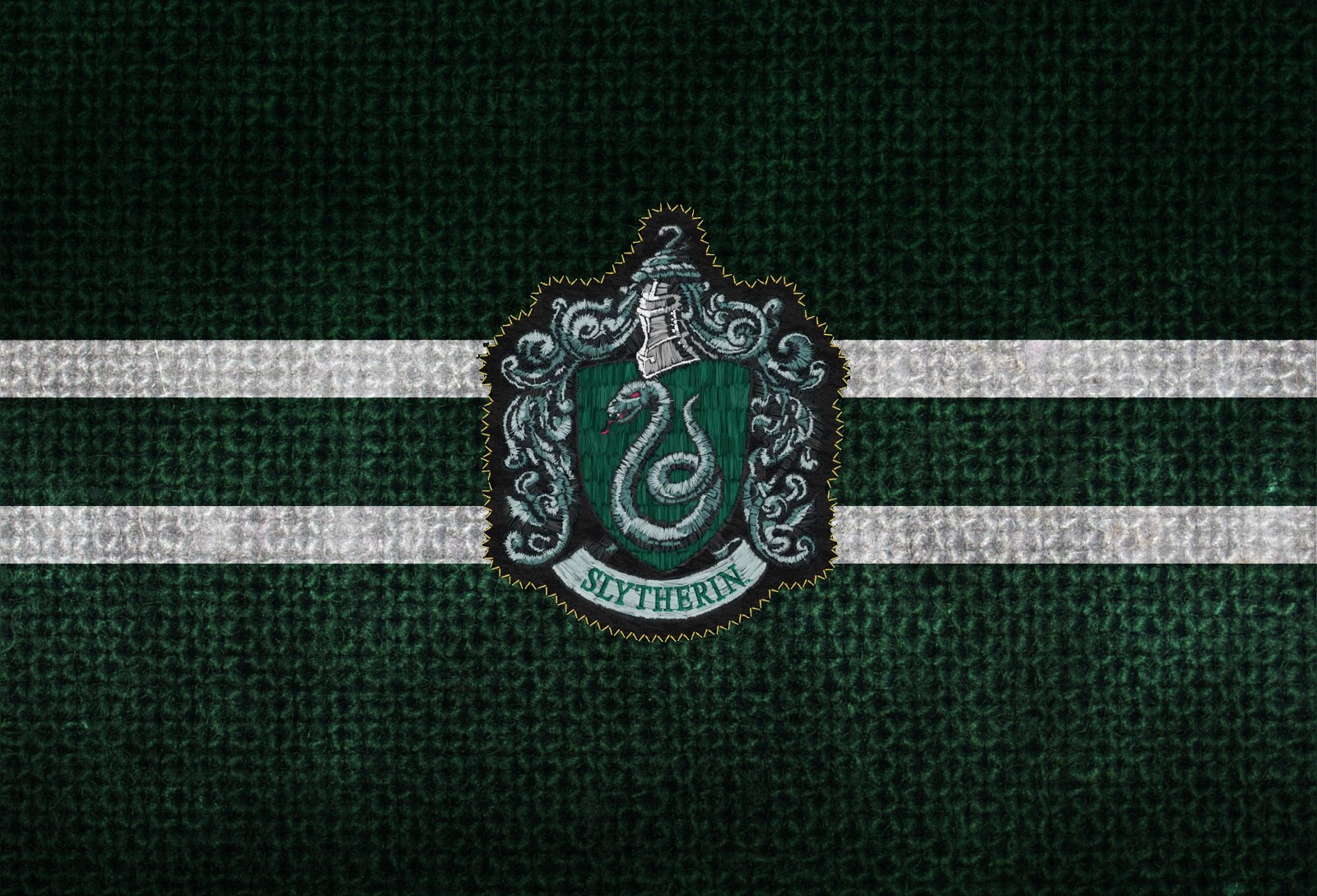 Harry Potter Wallpapers - Harry Potter Slytherin Theme - HD Wallpaper