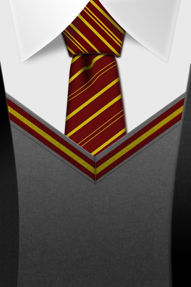 Harry Potter Gryffindor Tie Iphone Wallpaper - Iphone Wallpaper Hd Harry Potter - HD Wallpaper