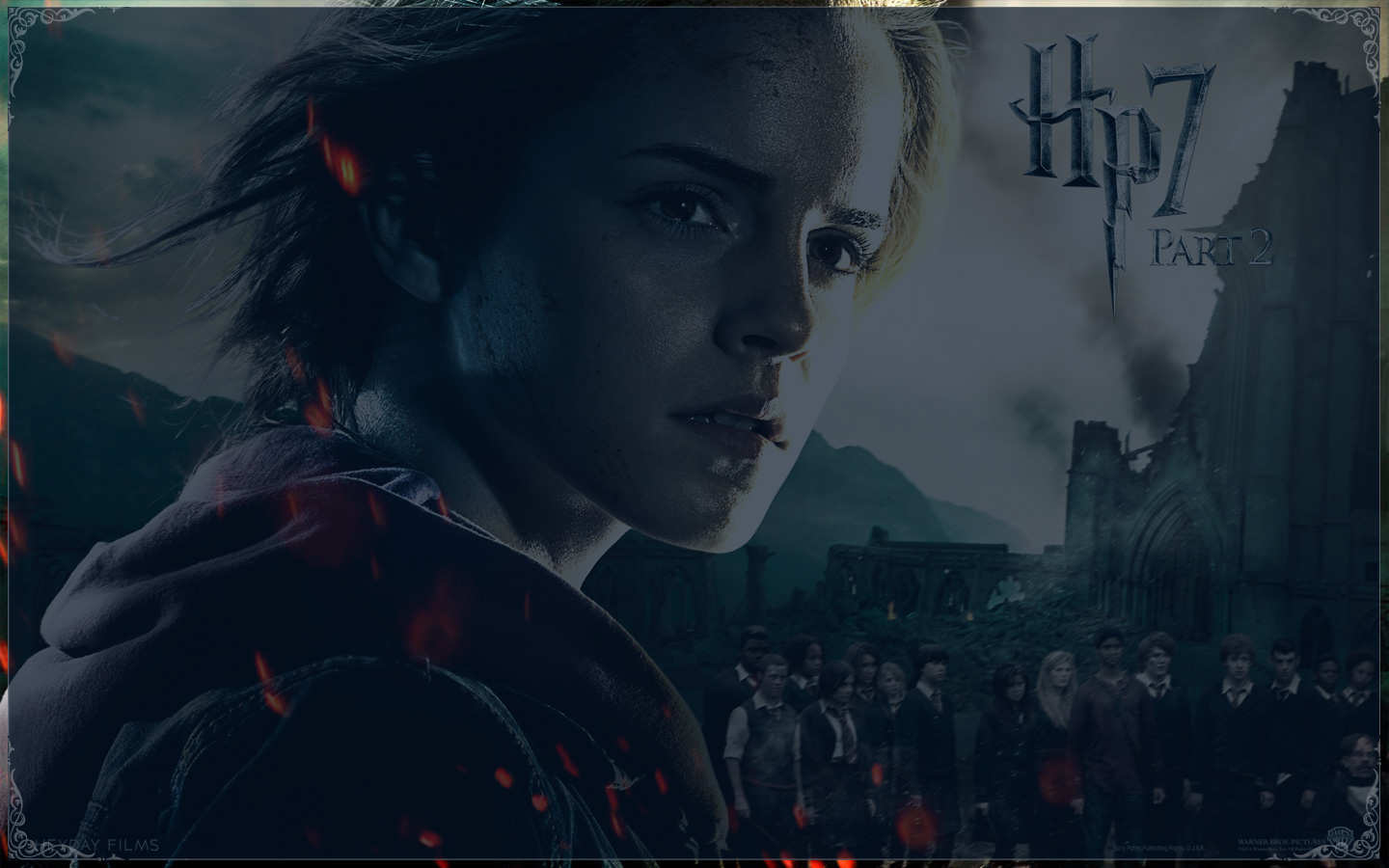 Harry Potter And The Deathly Hallows Part 2 Wallpaper - Harry Potter And The Deathly Hallows: Part Ii (2011) - HD Wallpaper