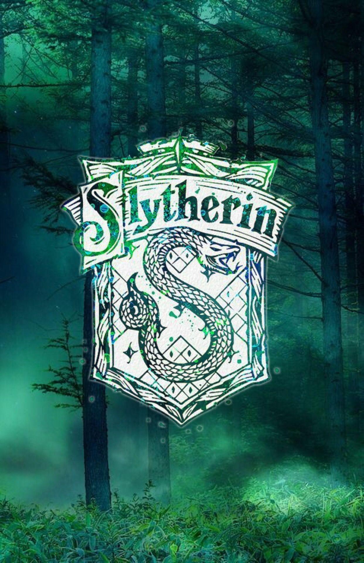 Harry Potter - Harry Potter Wallpaper Slytherin - HD Wallpaper