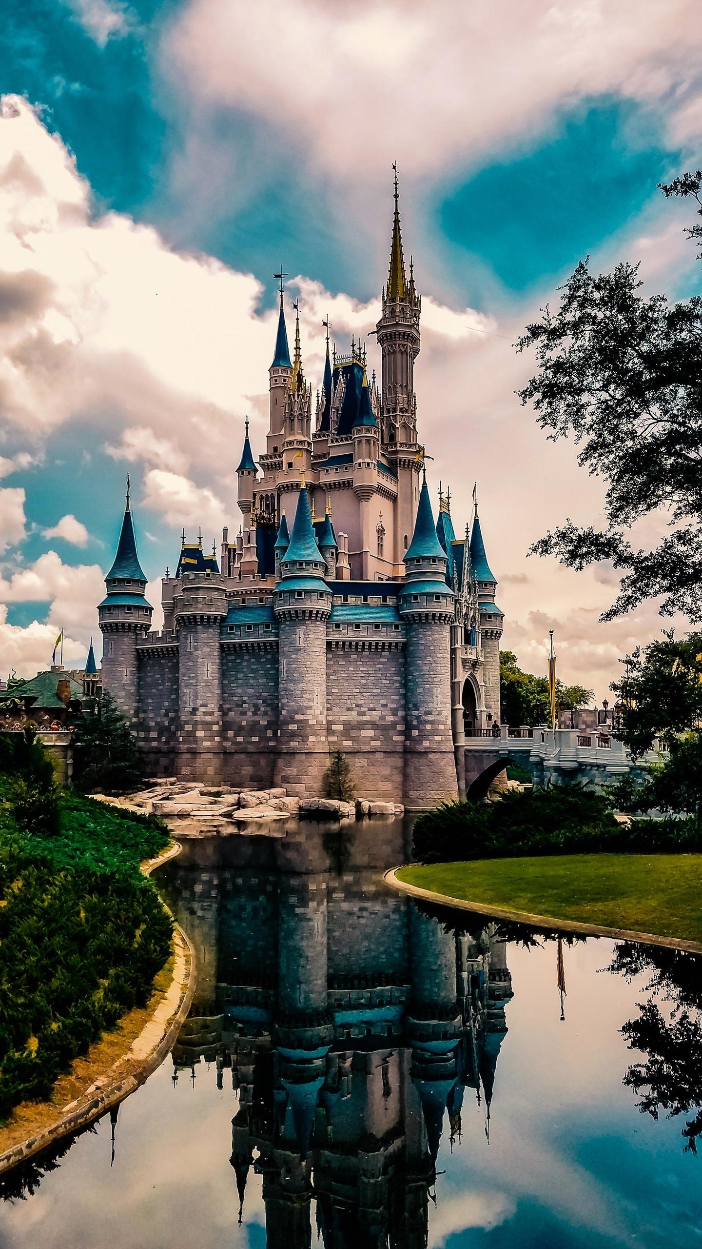 Walt Disney World Cell Phone 1440x2560 Wallpaper Teahub Io