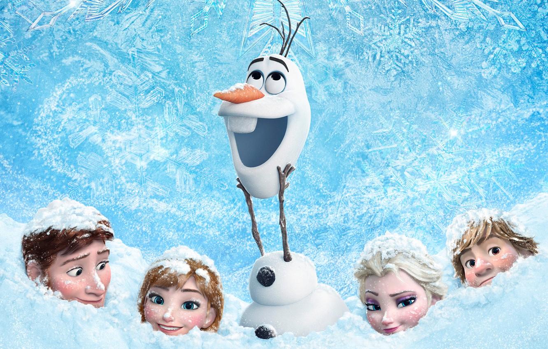 Photo Wallpaper Frozen, 2013, Walt Disney Animation - Imagenes De Frozen Full Hd - HD Wallpaper