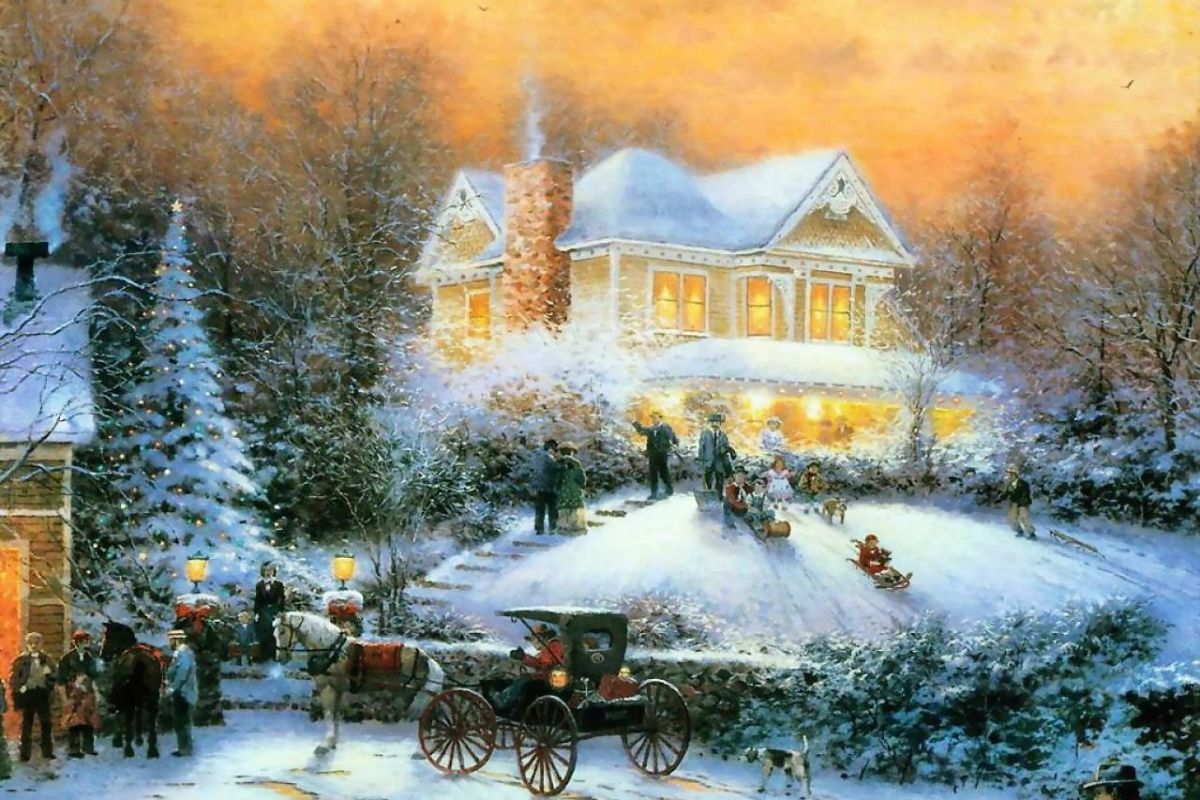 191 1913644 thomas kinkade christmas wallpapers thomas kinkade disney christmas