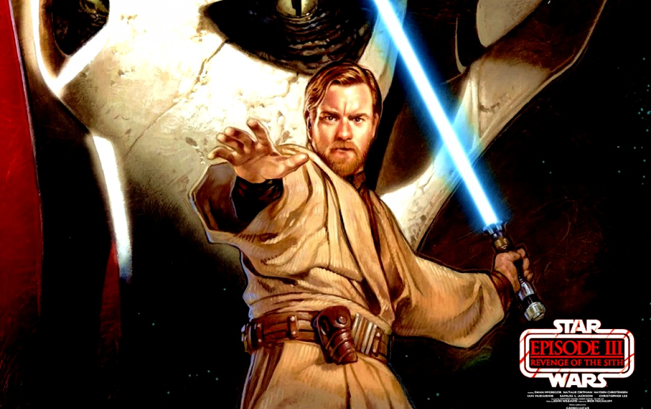 Star Wars Episode Iii Comic Wallpapers Obi Wan Kenobi Wallpaper 1080p 1280x804 Wallpaper Teahub Io