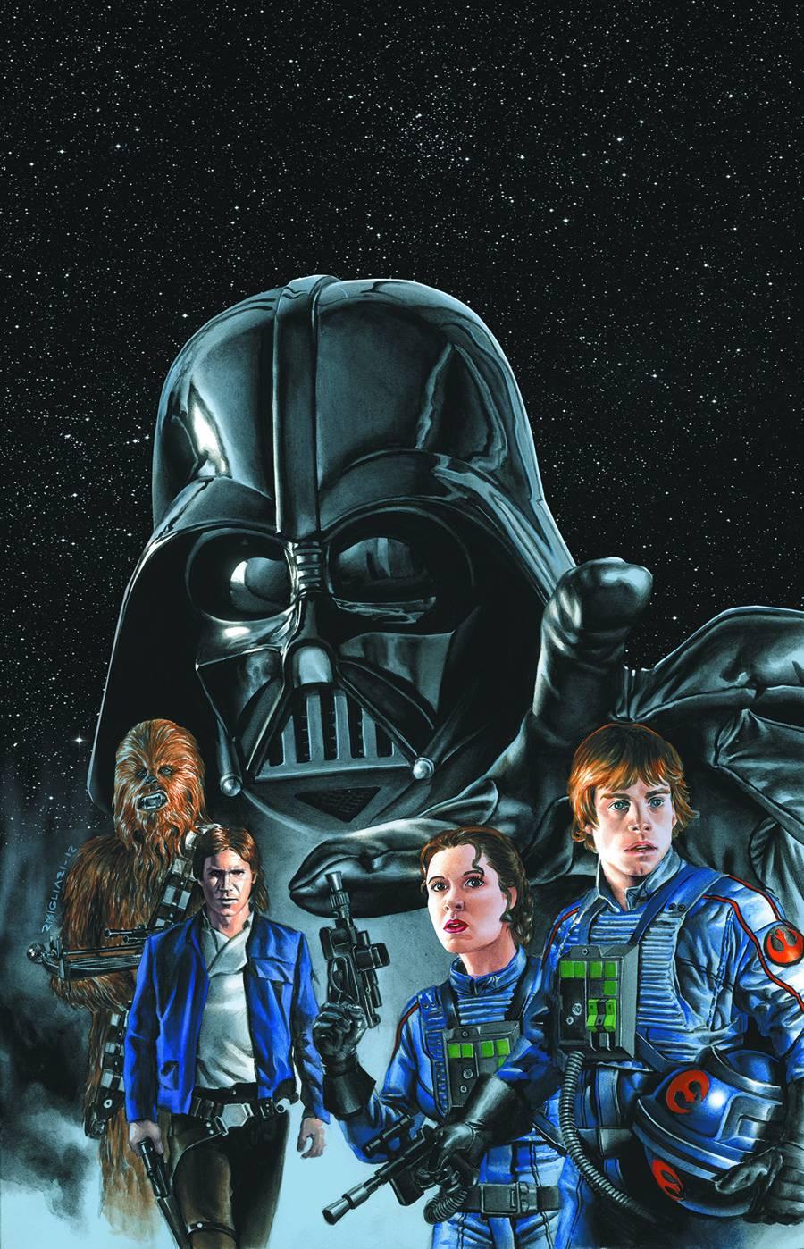 Star Wars Luke Skywalker Comic 900x1398 Wallpaper Teahub Io