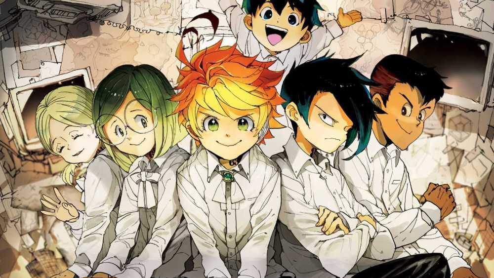 Anime The Promised Neverland 1000x563 Wallpaper Teahub Io