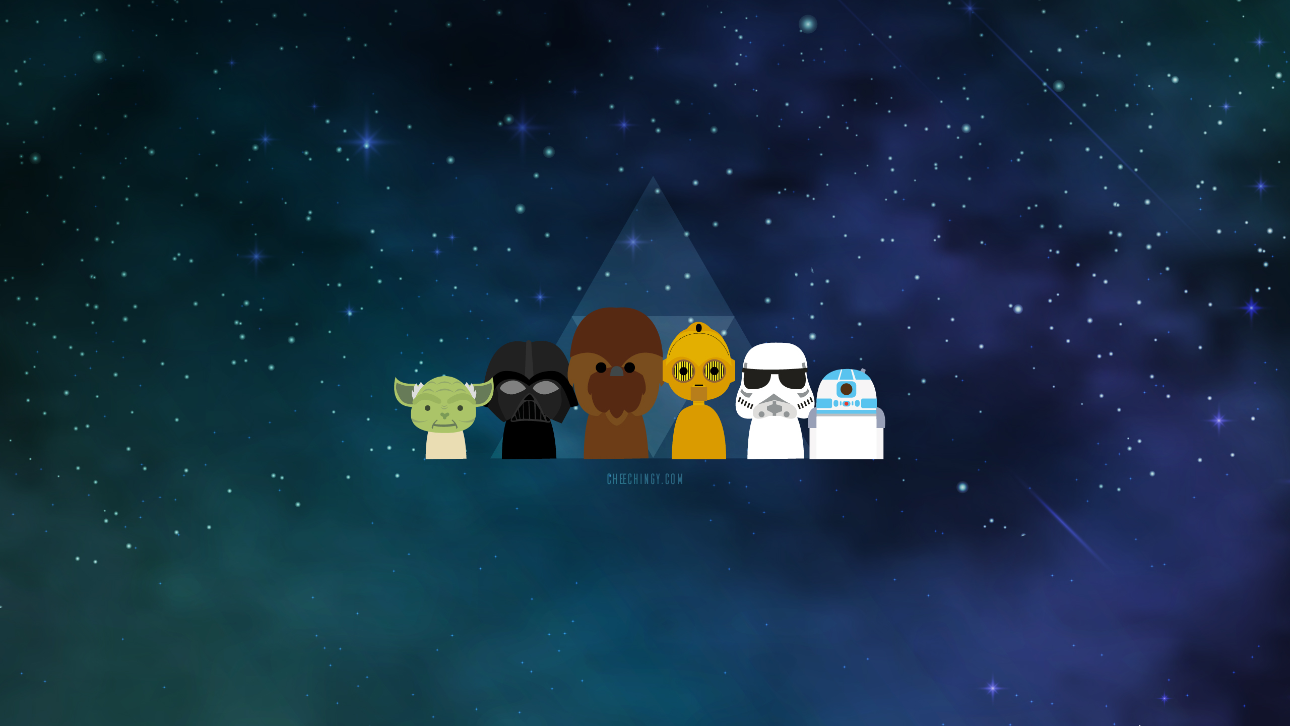 Star Wars Cartoon Backgrounds 2560x1440 Wallpaper Teahub Io