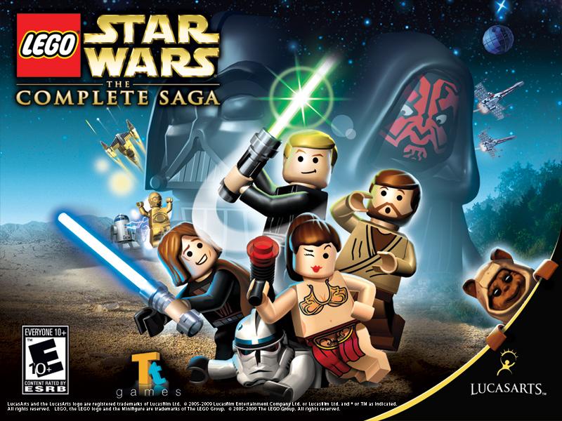 Lego Star Wars The Complete Saga Wallpaper Star Wars Lego Titles 800x600 Wallpaper Teahub Io