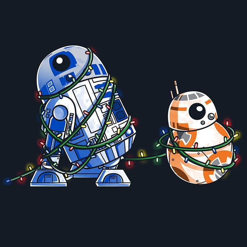 Star Wars Cartoon Christmas 800x800 Wallpaper Teahub Io