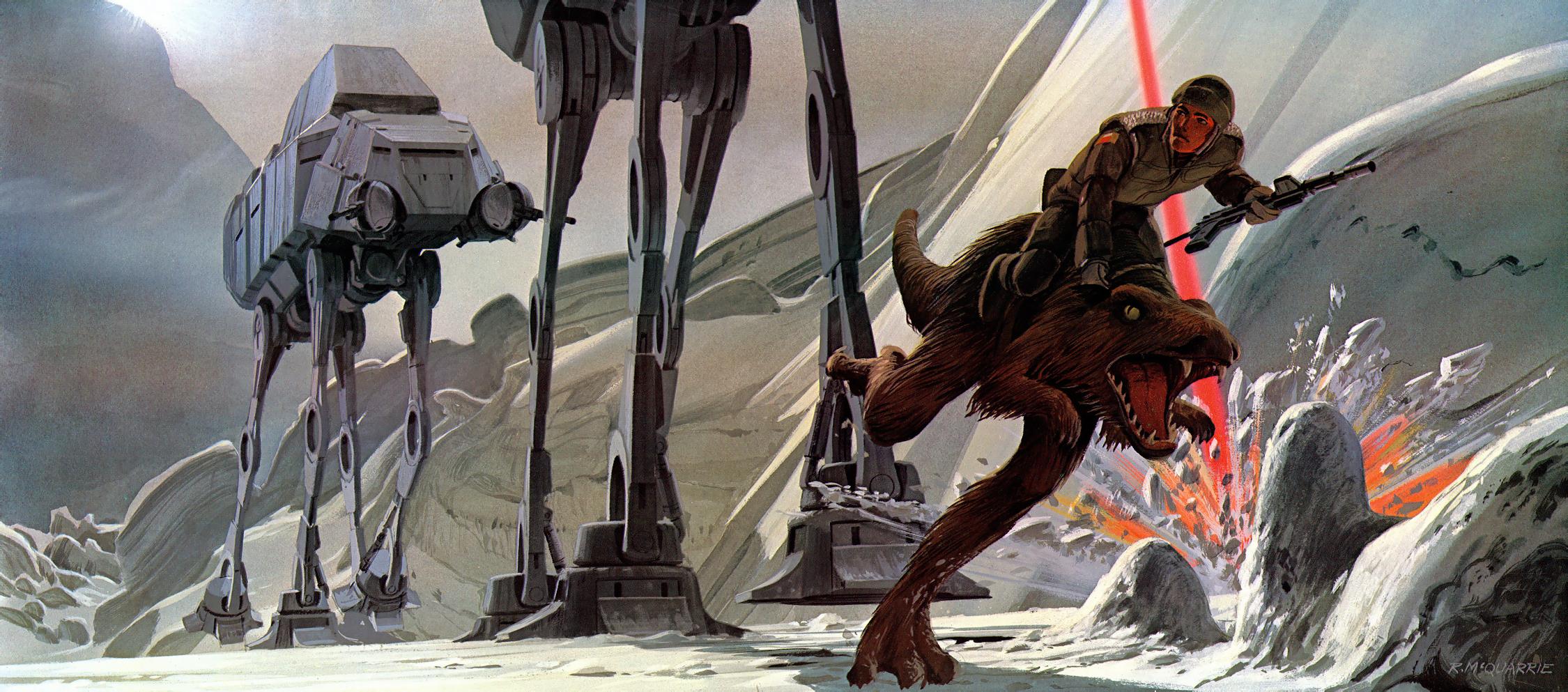 Ralph Mcquarrie Star Wars Concept Art 2250x993 Wallpaper Teahub Io