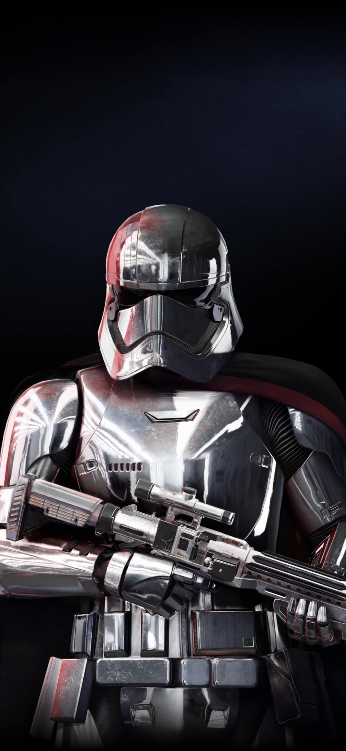 Captain Phasma Star Wars Battlefront 2 Soldier Wallpaper Captain Phasma Battlefront 2 1125x2436 Wallpaper Teahub Io
