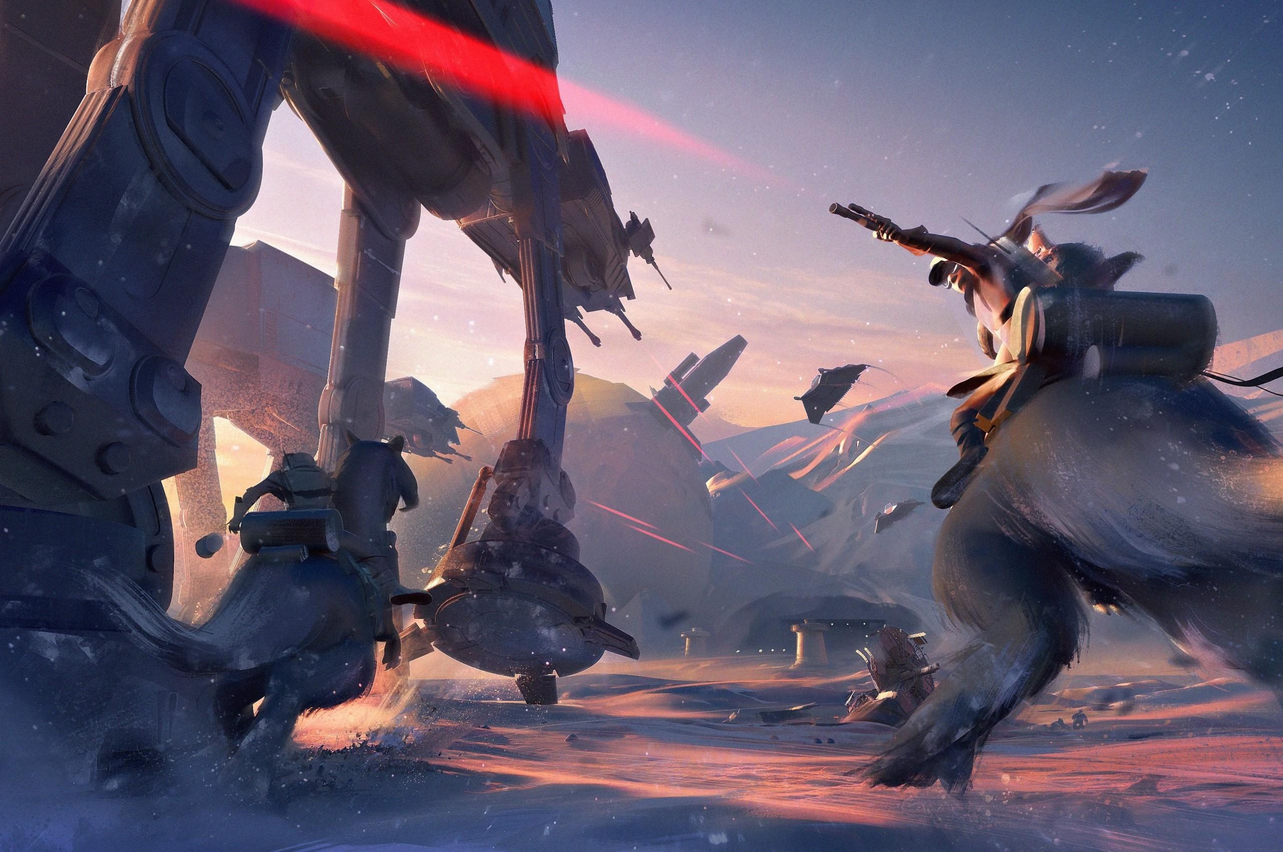 Star Wars Battlefront 2 Ea Hoth 2560x1700 Wallpaper Teahub Io