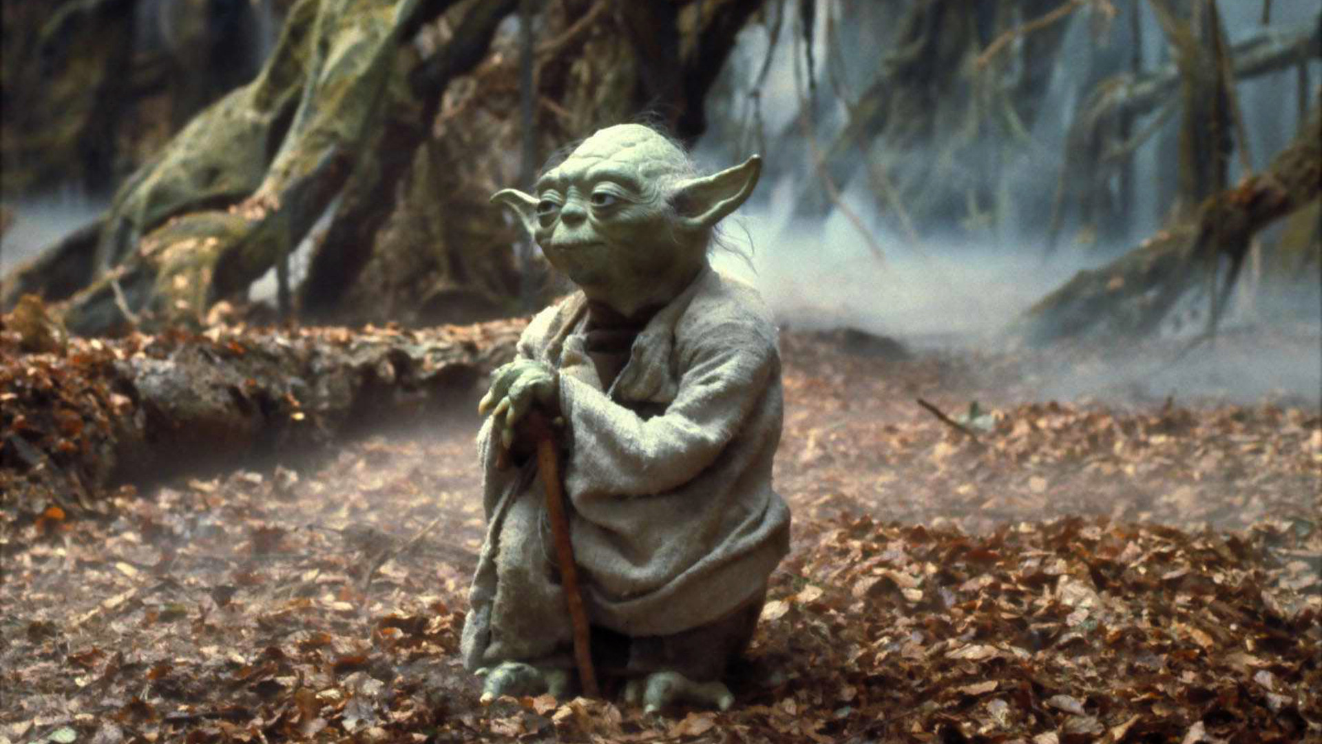 Yoda Star Wars Background Star Wars Yoda 1920x1080 Wallpaper Teahub Io