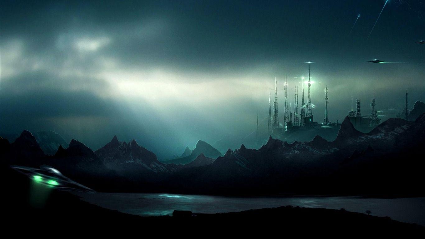Realistic Star Wars Wallpapers Best Wallpapers Images Sci Fi Alien Landscape Art 1366x768 Wallpaper Teahub Io