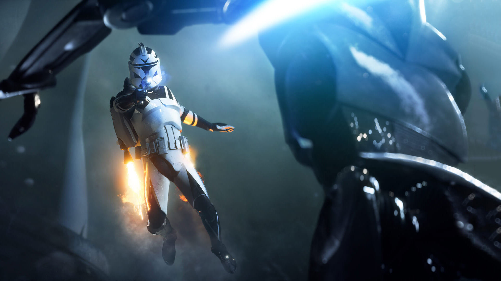 Star Wars Battlefront 2 Wallpaper 4k 1920x1080 Wallpaper Teahub Io