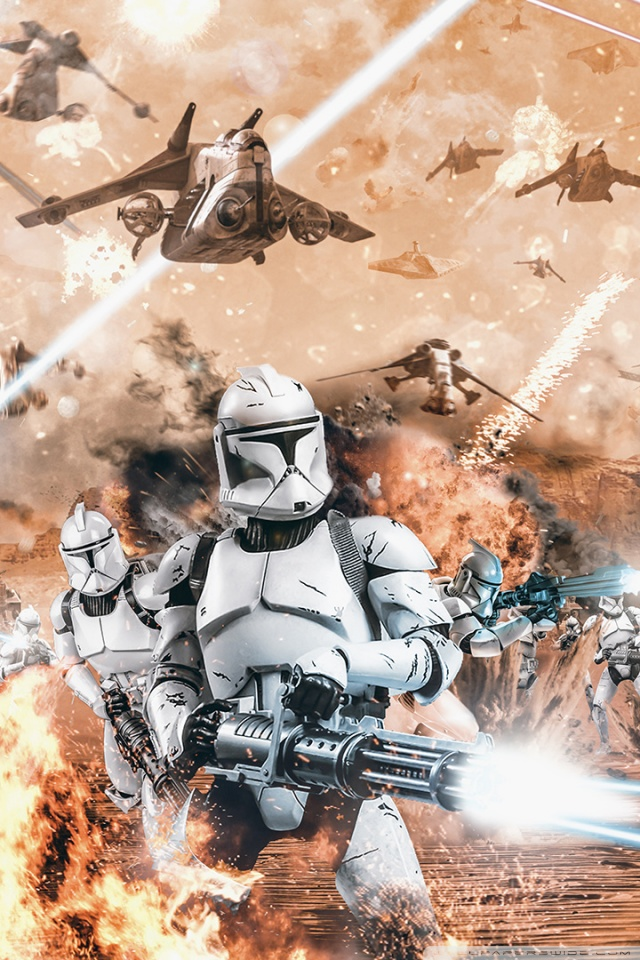 192 1927805 star wars clone trooper battle