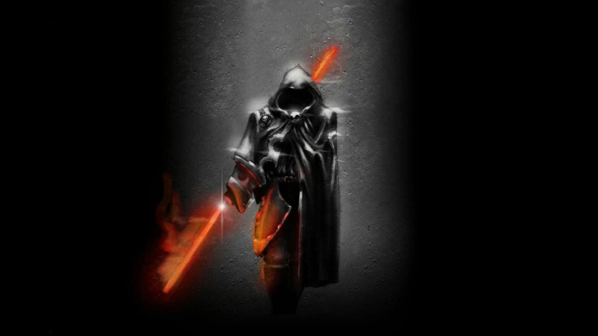 1920x1080 Star Wars Darth Maul With Red Red Lightsaber Sith Assassin Fanart 1920x1080 Wallpaper Teahub Io