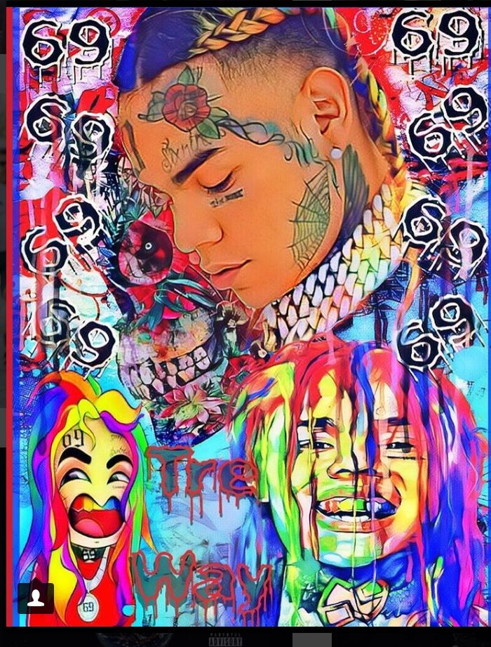 10+ Coolest 6Ix9Ine Hd Wallpapers - Phone Wallpapers for Boys