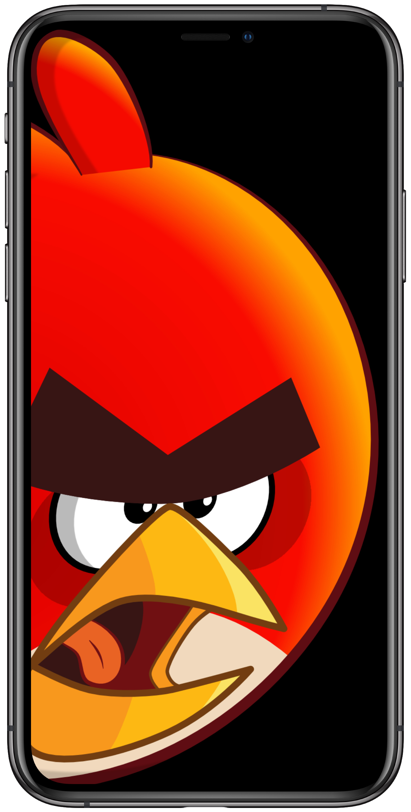 Angry Bird Iphone X 1325x2616 Wallpaper Teahub Io