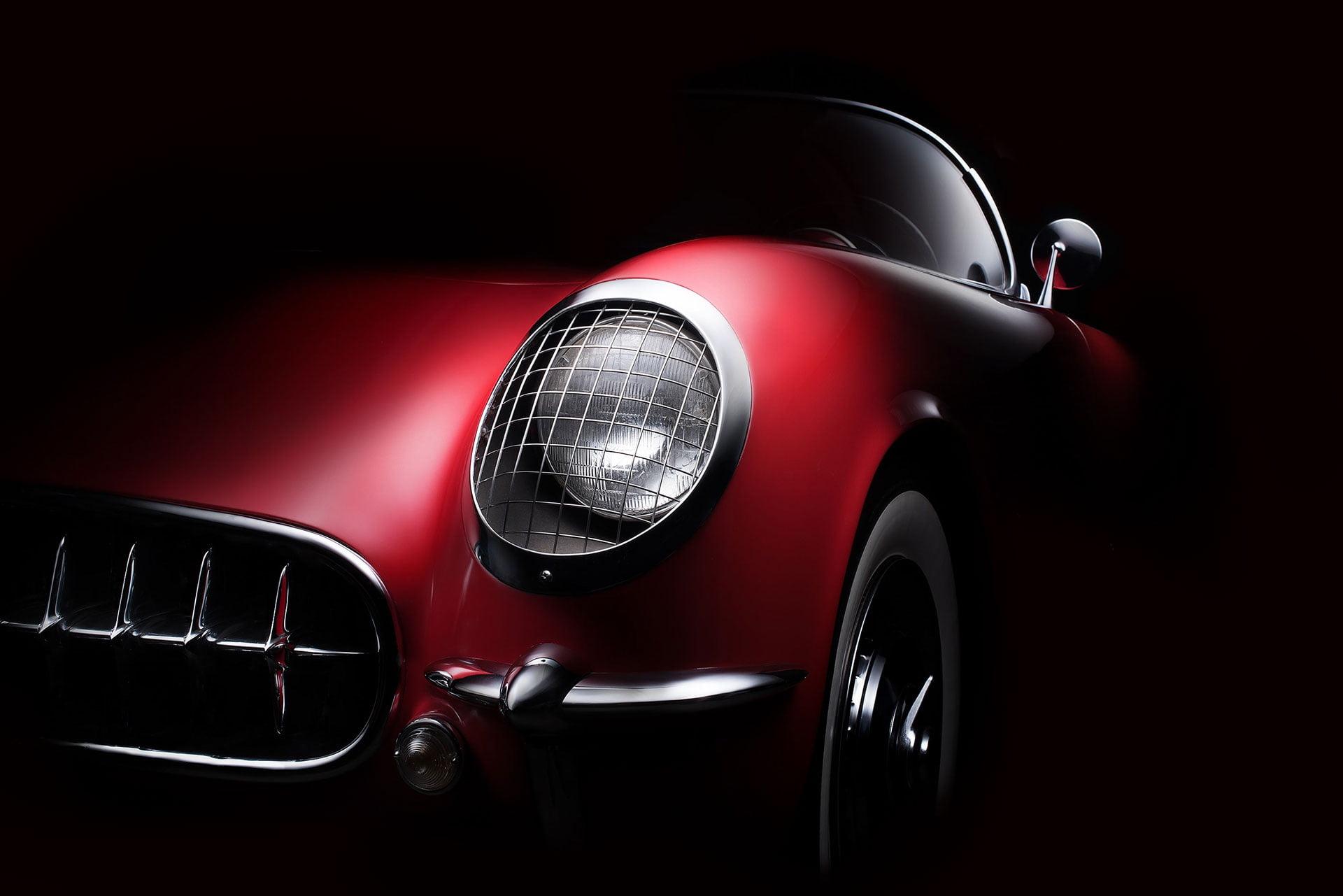 Red Car Dark Background 1920x1281 Wallpaper Teahub Io