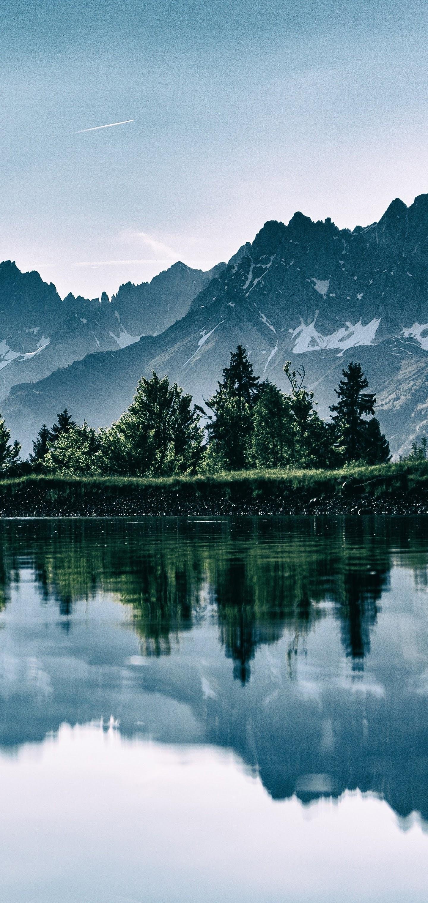 Mountain, Landscape, Trees, Nature, Scenery, 8k, - Mountain Color Palette - HD Wallpaper
