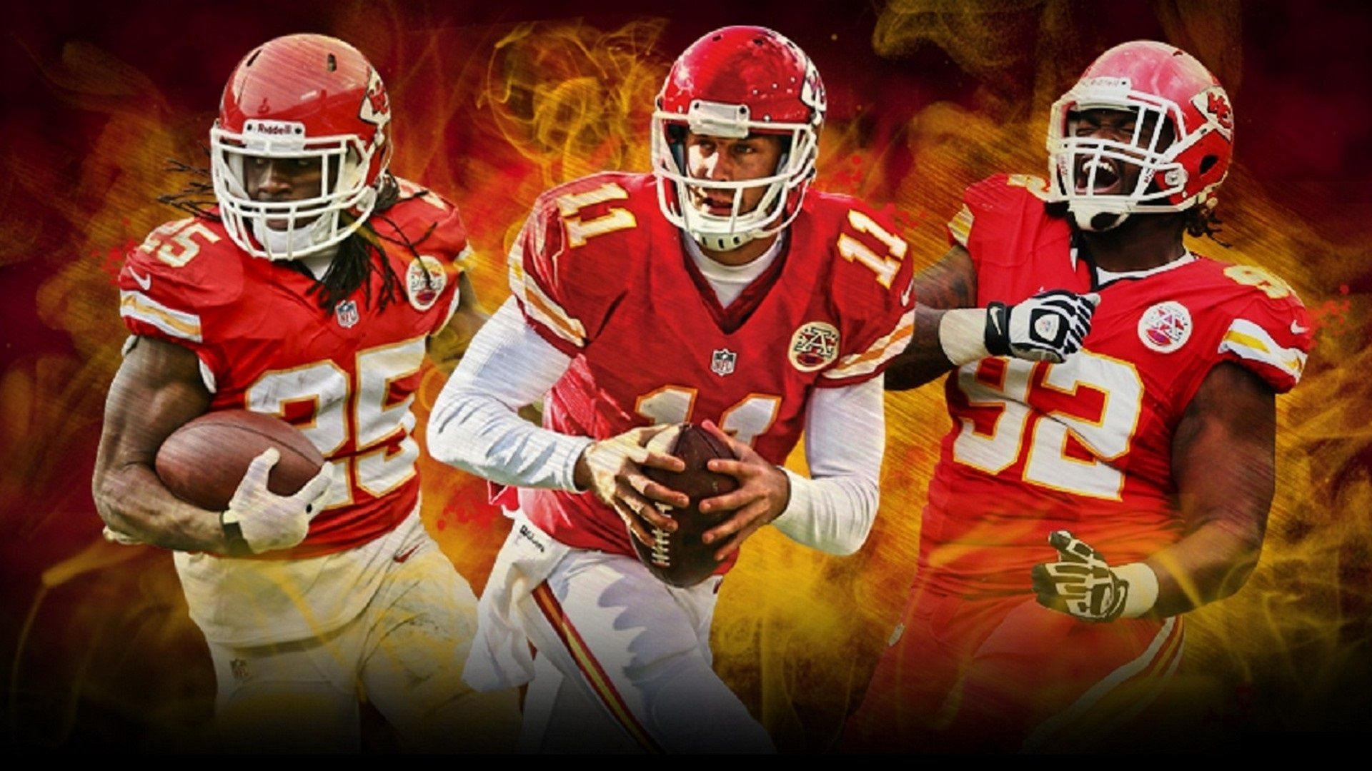 Kansas City Chiefs Wallpaper Team 1920x1080 Wallpaper Teahub Io