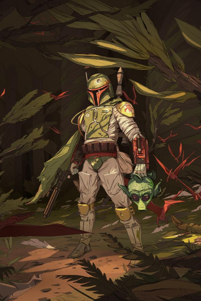Mandalorian Star Wars Legends Comic 640x960 Wallpaper Teahub Io