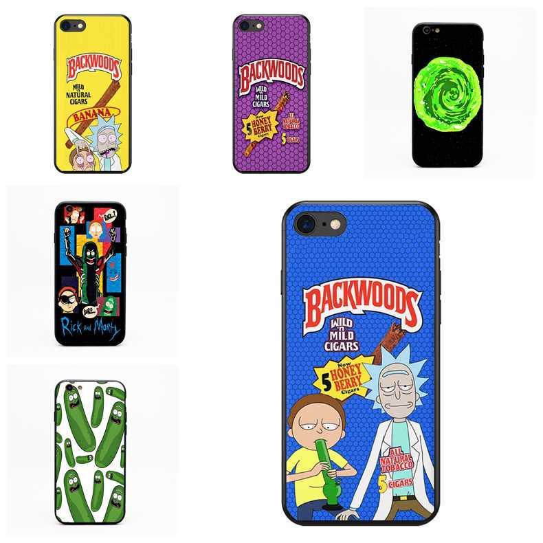 Rick And Morty Backwoods Soft Silicone Black Cover - Rick And Morty Cases - HD Wallpaper