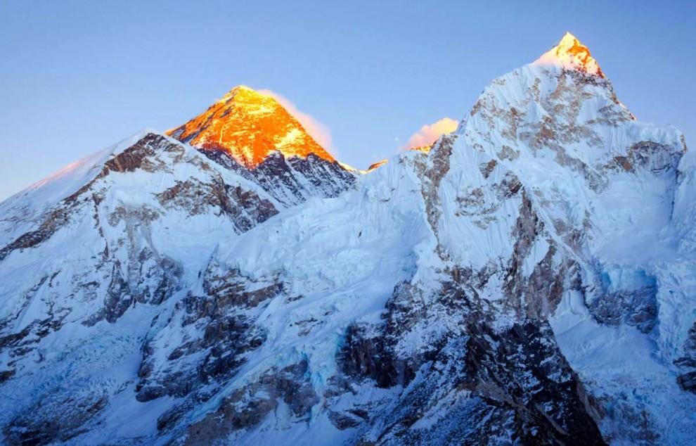 Monte Everest Hd 4k 990x634 Wallpaper Teahub Io