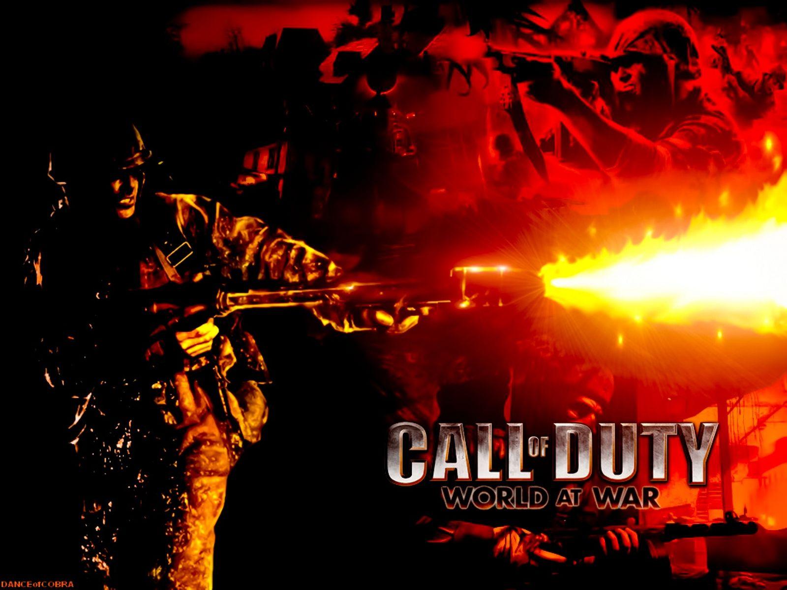 Call Of Duty World At War 1600x1200 Wallpaper Teahub Io