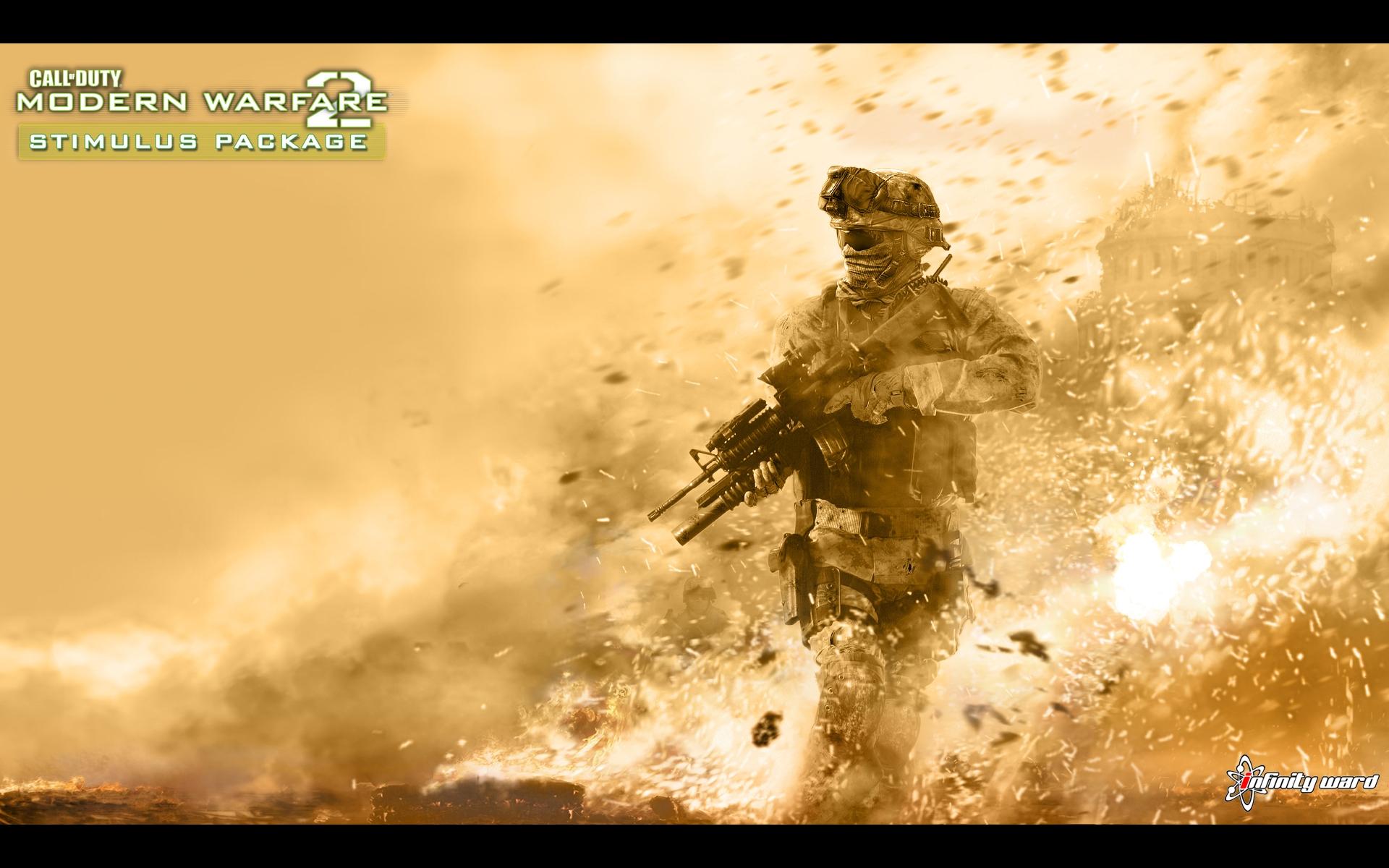 Call Of Duty Modern Warfare 2 Wallpaper Hd 1920x1200 Wallpaper