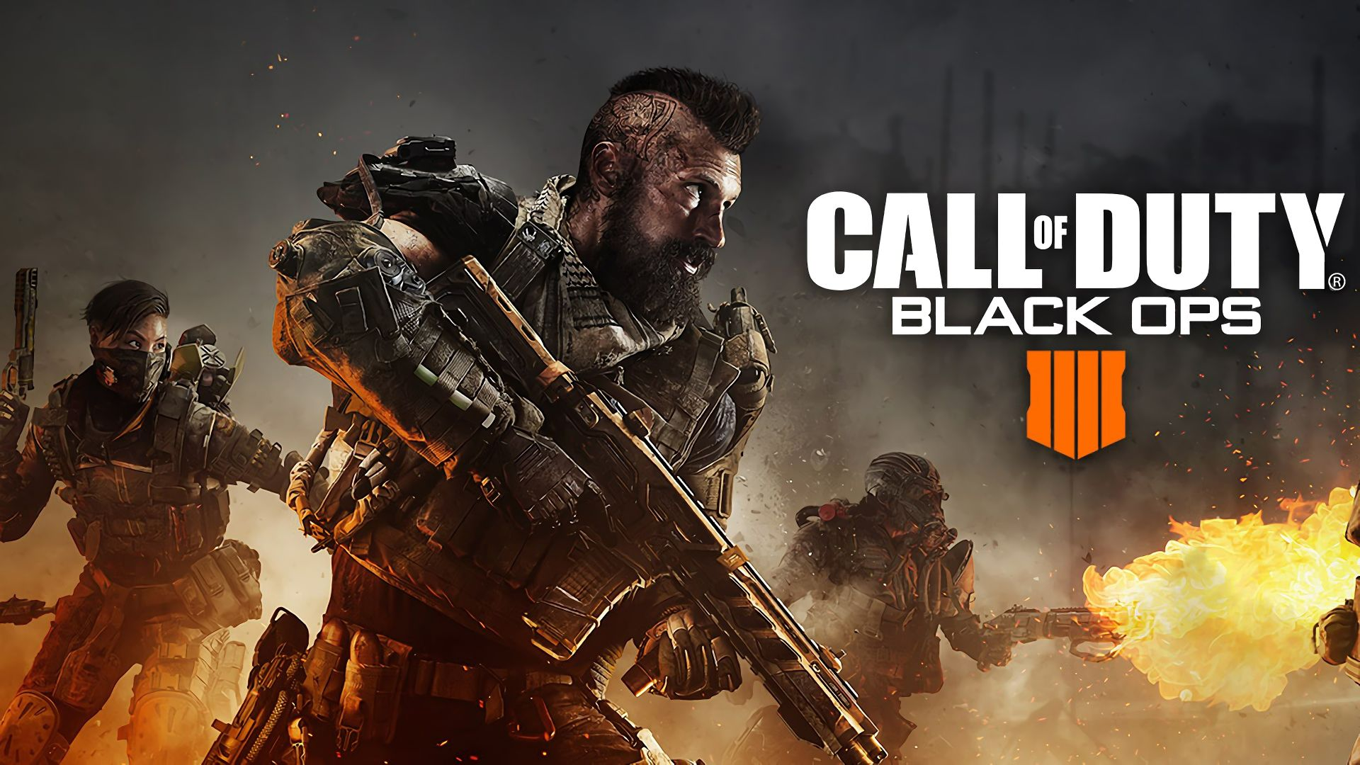 Call Of Duty Black Ops 4, Poster, 4k - Call Of Duty Black Ops 4 4k - HD Wallpaper