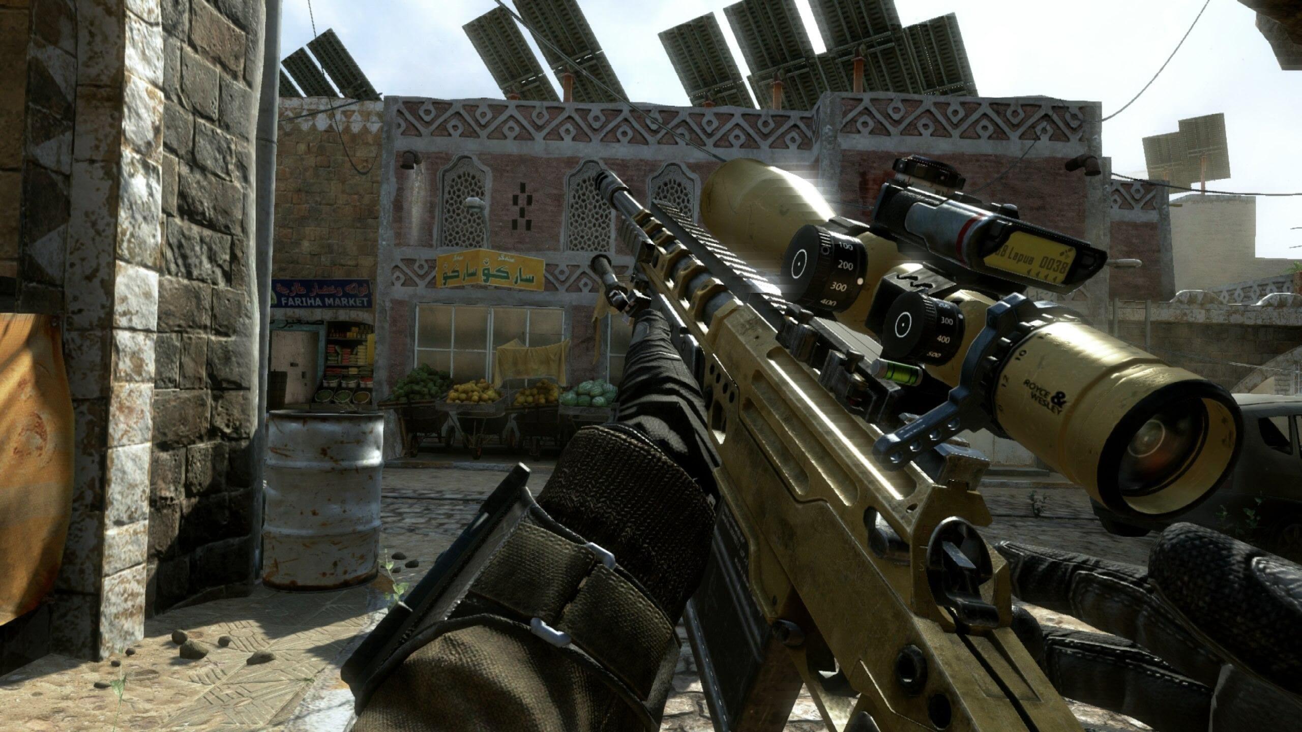 Bo2 Wallpaper Sniper - Call Of Duty Black Ops 2 Sniper - HD Wallpaper