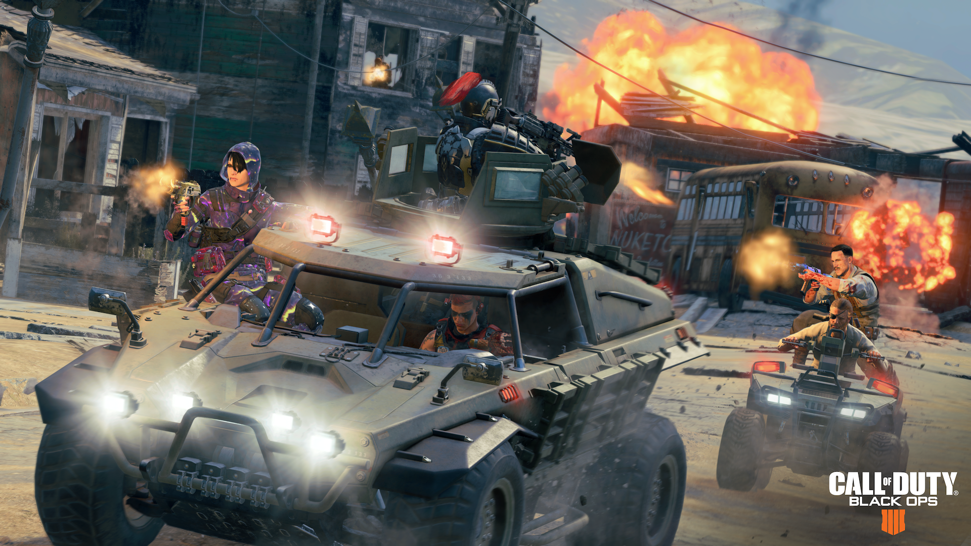 Call Of Duty Black Ops 4 Blackout Vehicles - HD Wallpaper