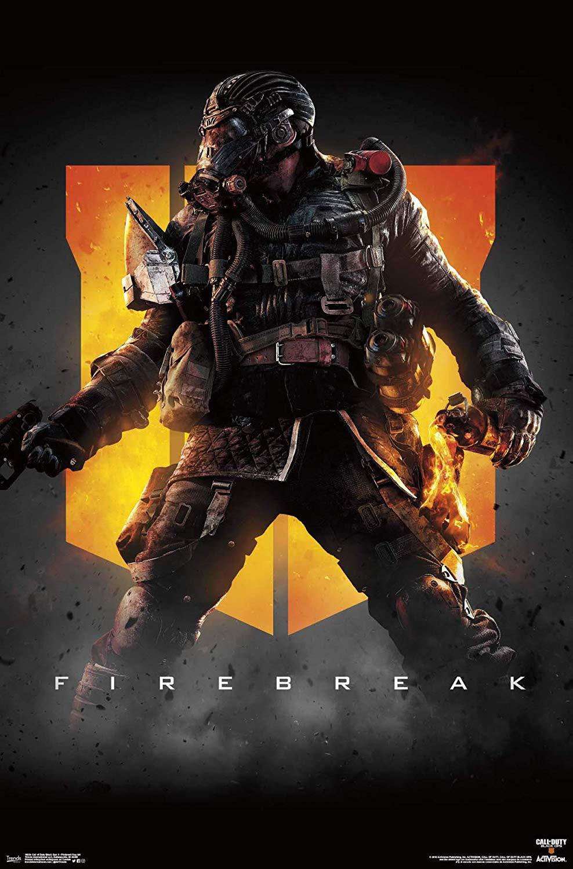 Call Of Duty Black Ops 4 Firebreak - HD Wallpaper
