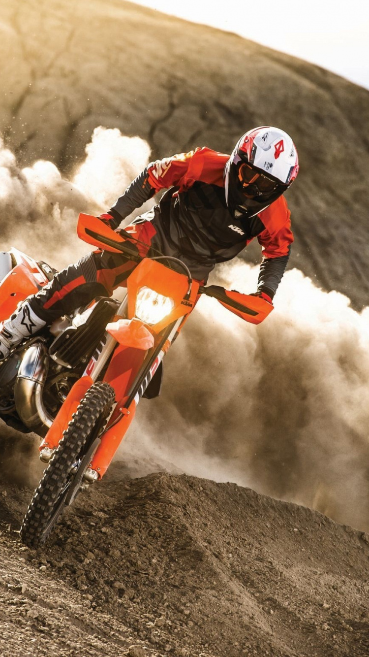 Motocross Dusk Bike Race Wallpaper 1080p Motocross Wallpaper Hd 750x1334 Wallpaper Teahub Io