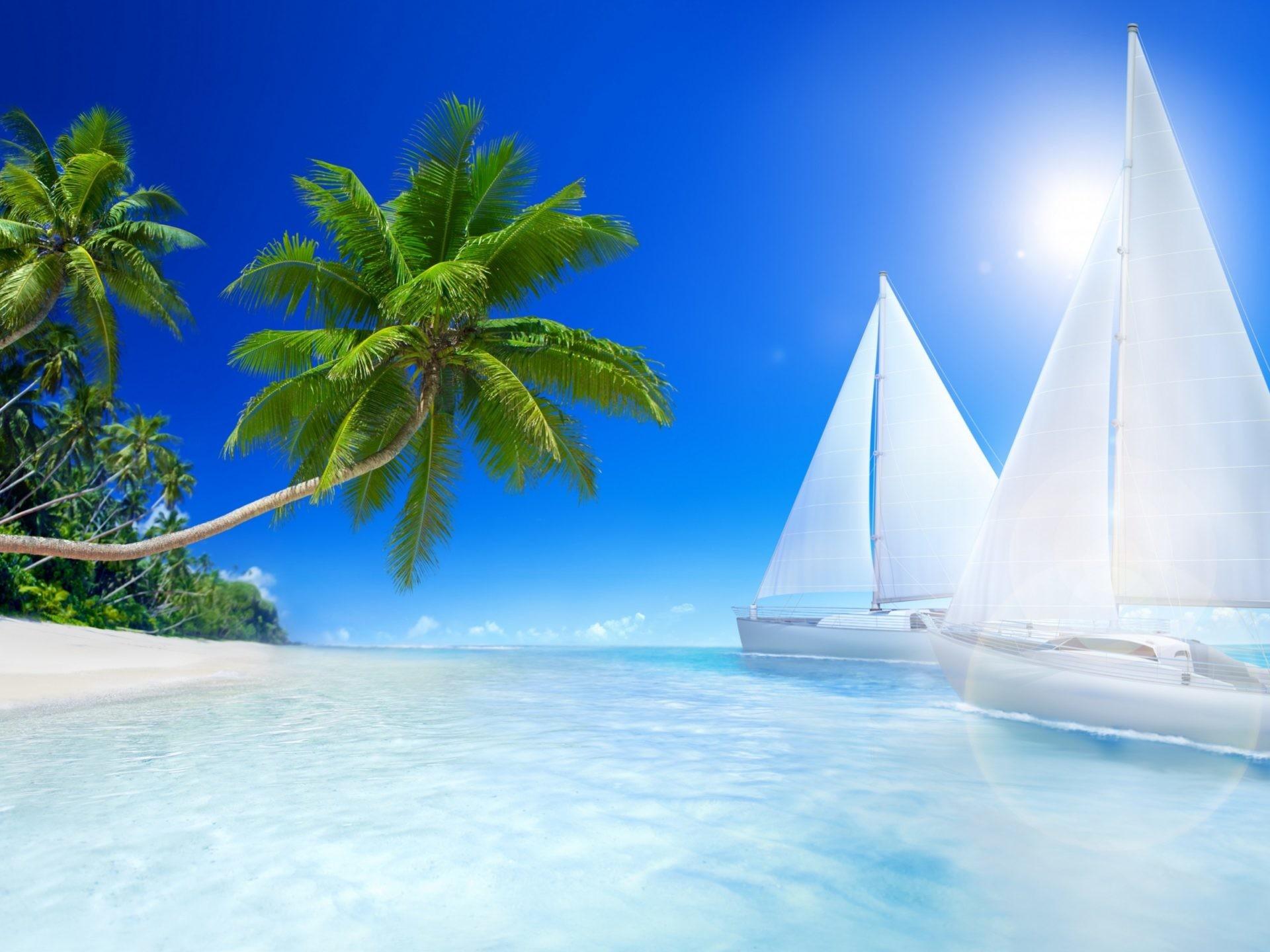 1920x1440, Beautiful Beach Ultra Hd 32k Wallpaper   - Beach Desktop Backgrounds - HD Wallpaper