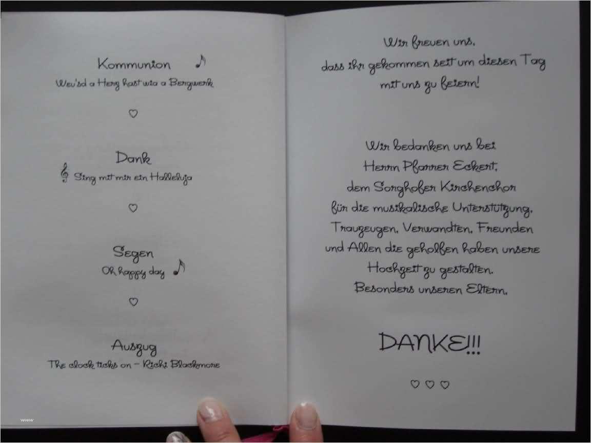 Kirchenheft text danksagung hochzeit Danksagung Hochzeit