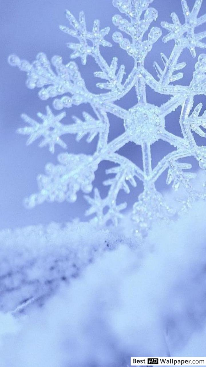 Snowflake Snow 720x1280 Wallpaper Teahub Io