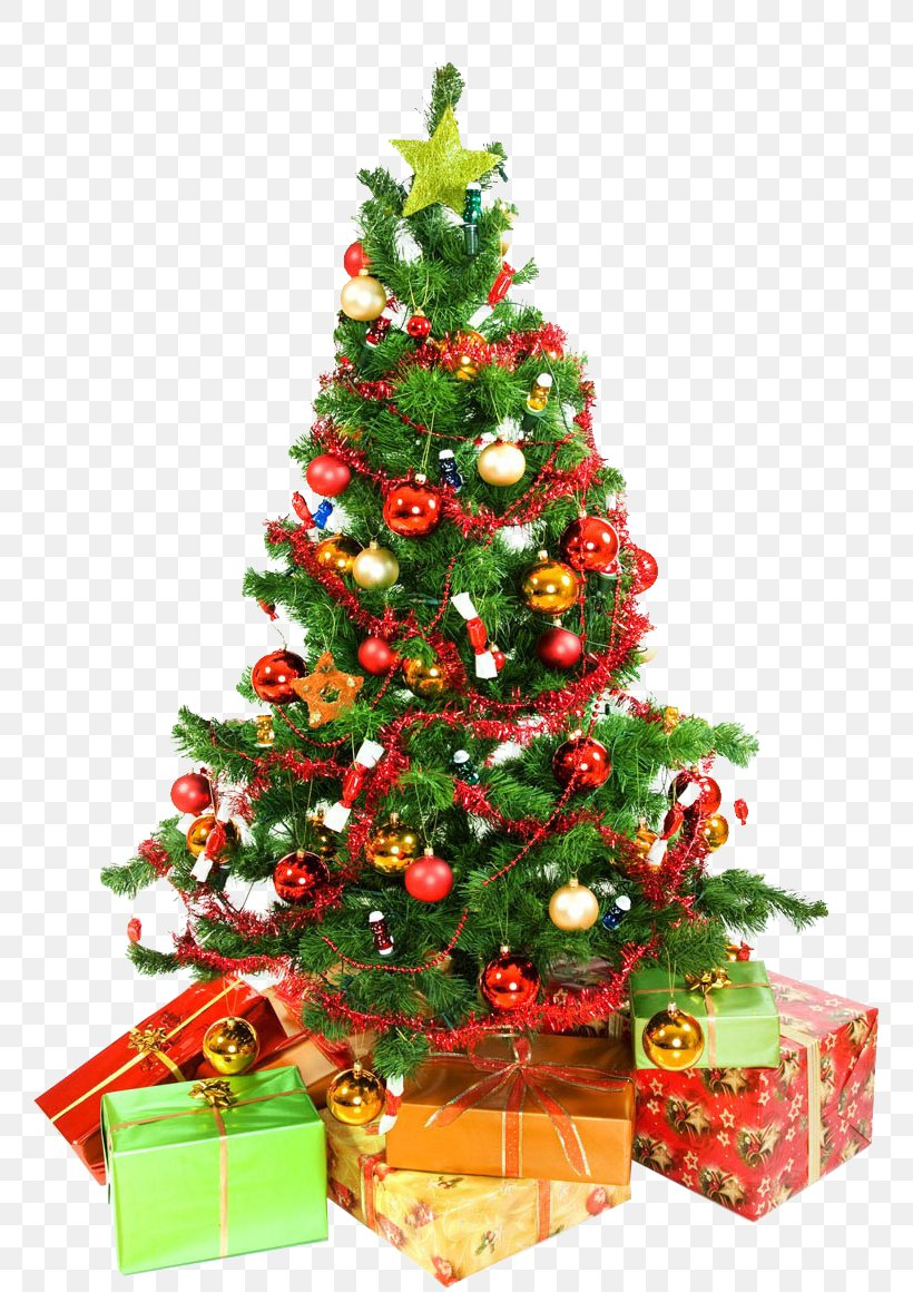Christmas Tree High-definition Television Desktop Wallpaper, - Christmas Tree High Resolution - HD Wallpaper