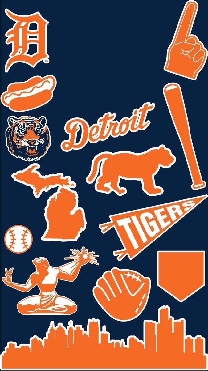 Twitter Detroit Tigers Wallpaper Wednesday 675x1200 Wallpaper Teahub Io