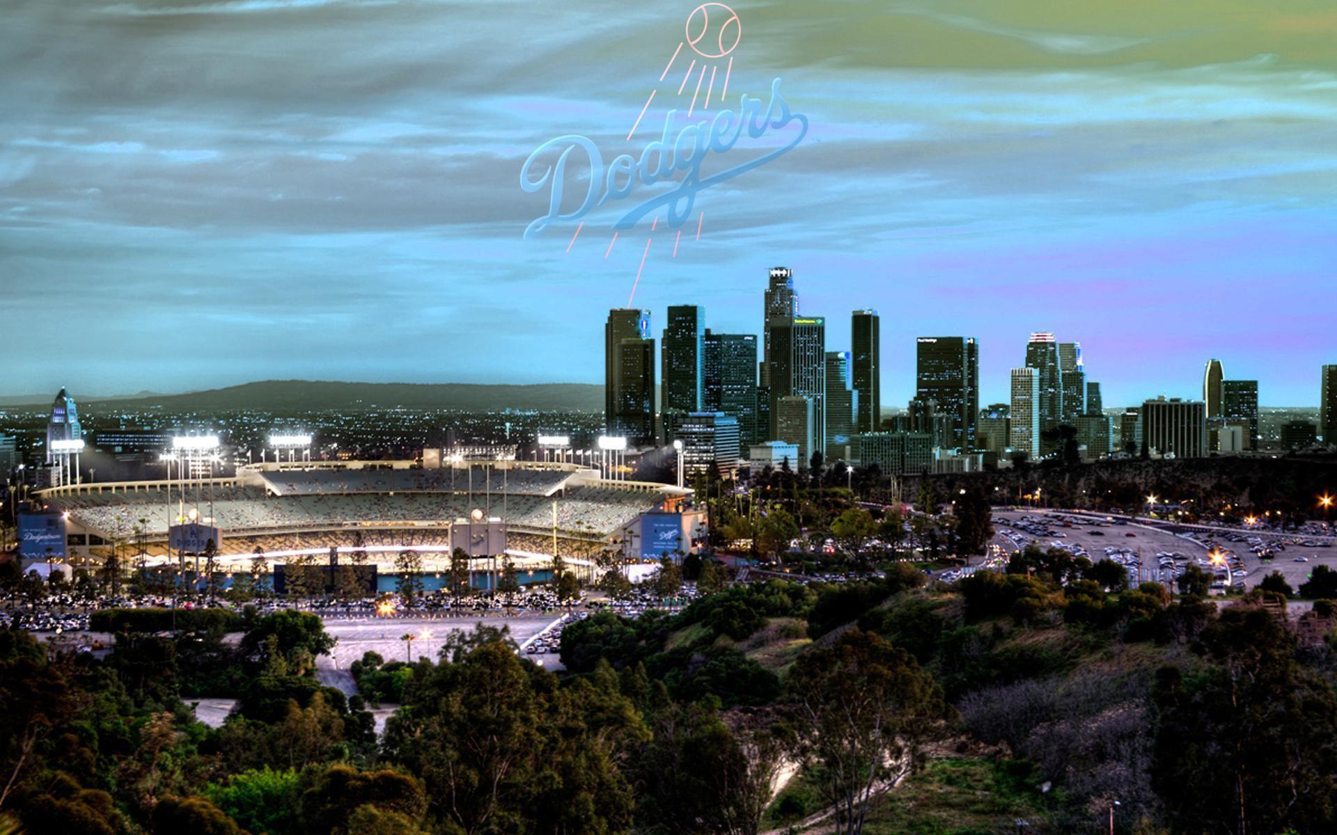 1920x1200, Los Angeles Dodgers Images Screen Hd Free - Dodger Stadium Downtown La - HD Wallpaper