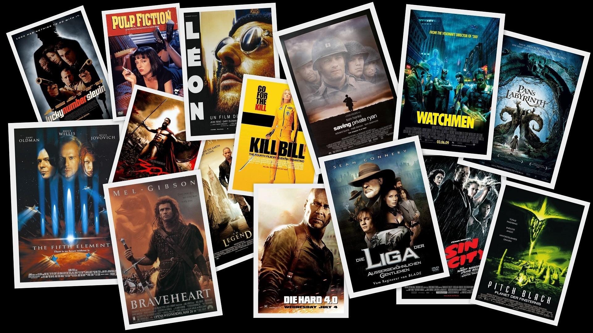 Movies Digital Art Collage Movie Posters Fan Art Wallpaper - Movie Genre - HD Wallpaper