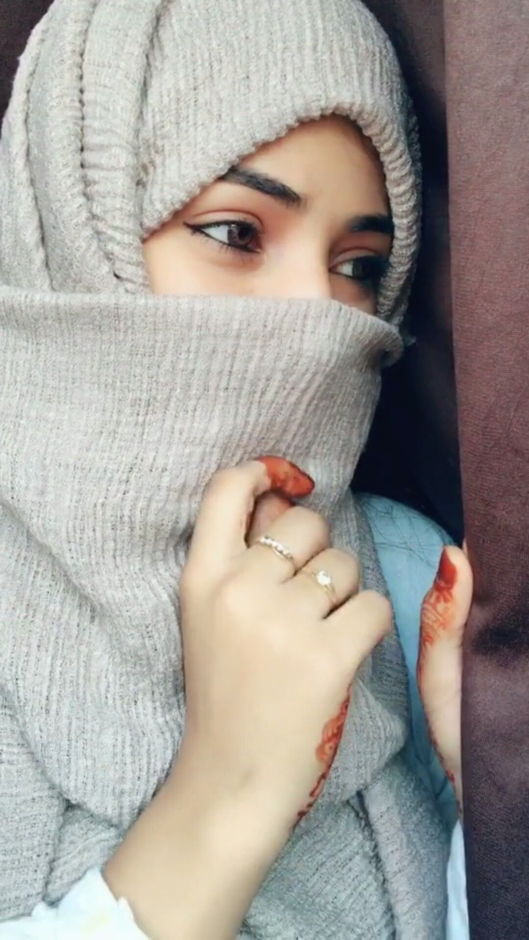 Hijab Niqab Beautiful Eyes - HD Wallpaper