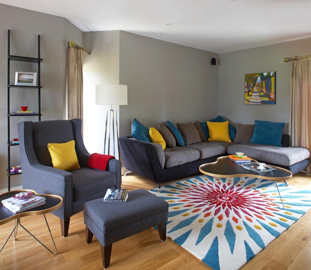 Brilliant Grey Yellow Living Room And Com Teal Gray 990x860 Wallpaper Teahub Io