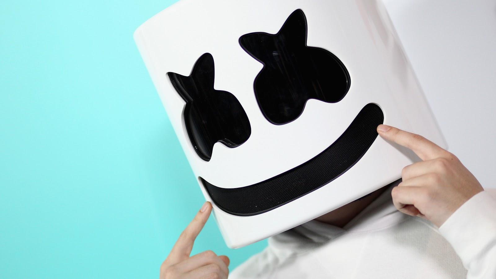 Marshmello Dj Wallpaper Hd Hd Wallpaper Iphone 3d Wallpaper Marshmello 1600x900 Wallpaper Teahub Io