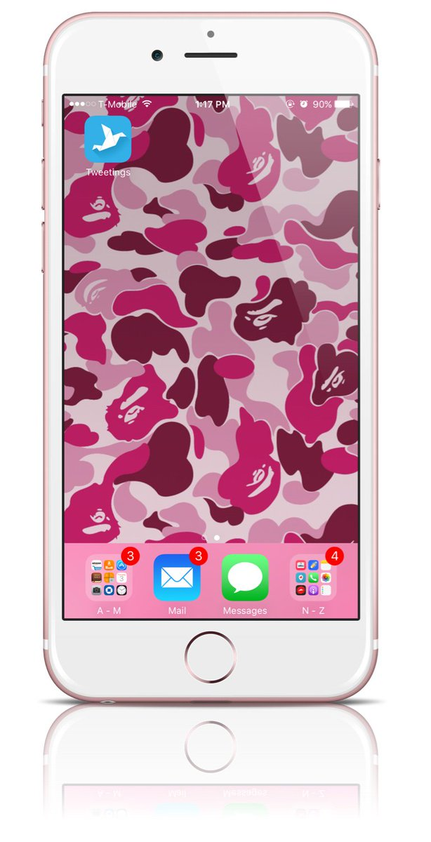 Pink Bape Phone Case - HD Wallpaper