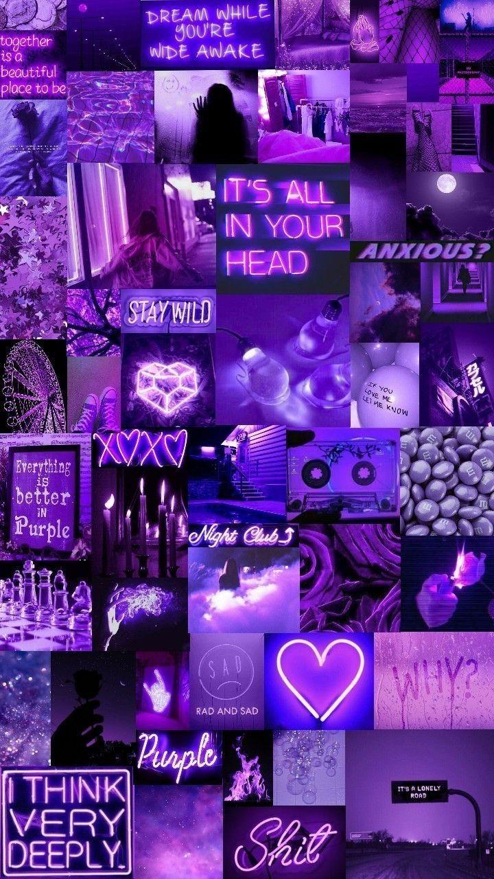 Purple Aesthetic - HD Wallpaper